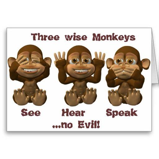 drei kluge Affen Gru  ...
