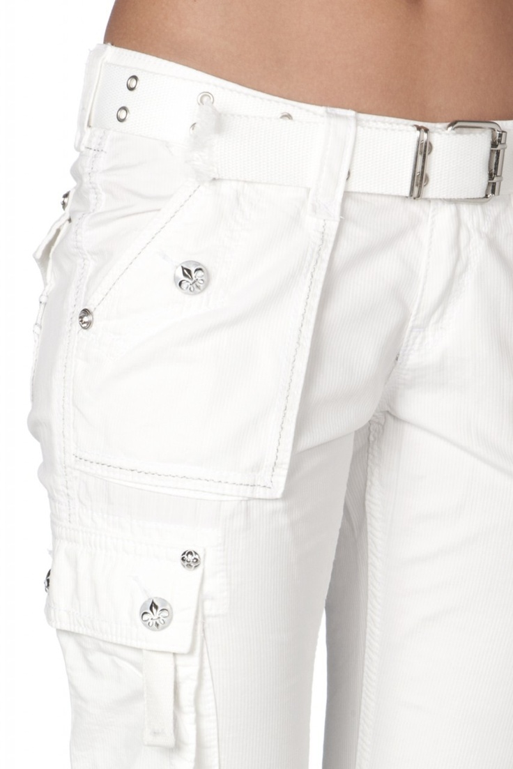 white cargo pants white cargo pant so 10233