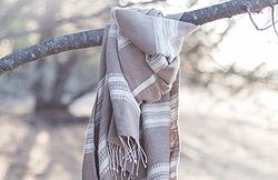 Once Was Lost - SUMMER THROW - NATURAL ($79.95)