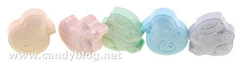 If you love candy, you should check out this blog!  These are Sweetart Chicks, Ducks, and Bunnies.