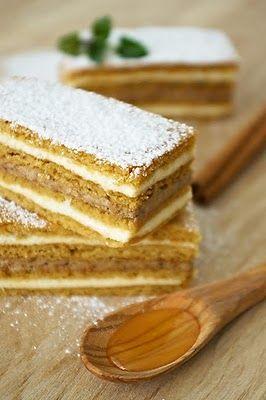 Medena Pita, Croatia | honey cake