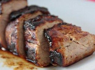 Honey, Butter, & Pork! It's like my dream meal lmbo! Honey Butter Pork Tenderloin #recipe