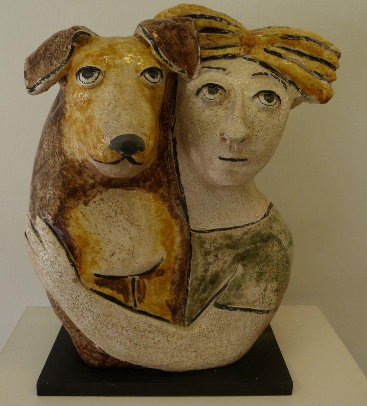 Scultura in ceramica di Speranza Neri  #sculture in ceramica #ceramica #argilla #arte #scultura #arredamento #sculpture #artists #ceramicaartistica