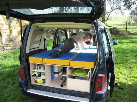 Trafic aménagé camping