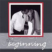 Scrapbooking Article: Elegant Wedding Album