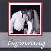 Scrapbooking Article: Elegant Wedding Album