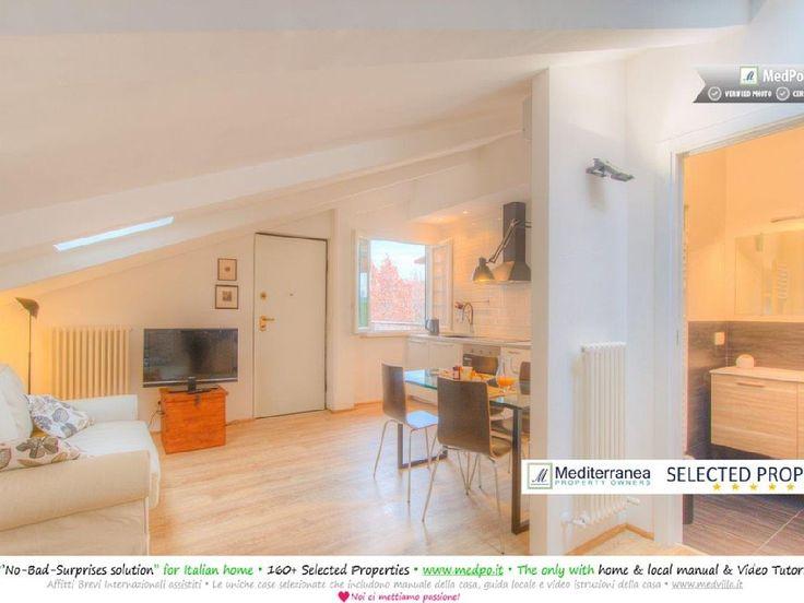 Peteru0027s Apartment : Rome Apart ♥ Wood Flooring, Terrace, Wi Fi Heating .