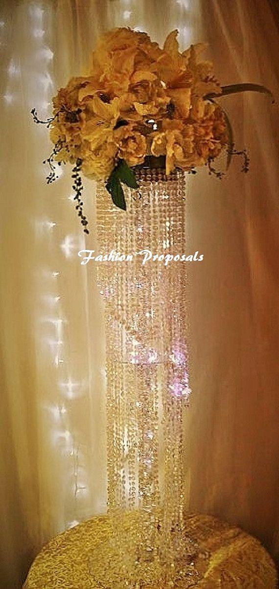 17 Best Ideas About Chandelier Centerpiece On Pinterest Bling Wedding Centerpieces Candelabra