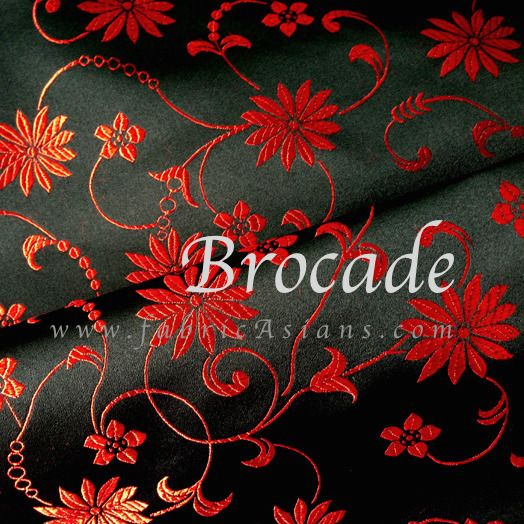 tissu chinois motif fleurs. Tissu Chinois par fabricAsians