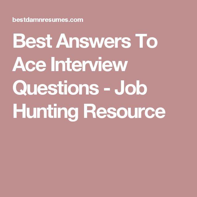Best 25+ Popular interview questions ideas on Pinterest Commonly - resume interview questions