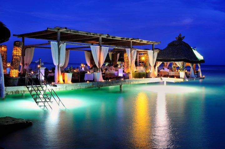 Boca Marina Restaurant --Pinner said- LOVE this place!! If you ever visit the Dominican Republic, go eat here!! It's a breath-taking scene!