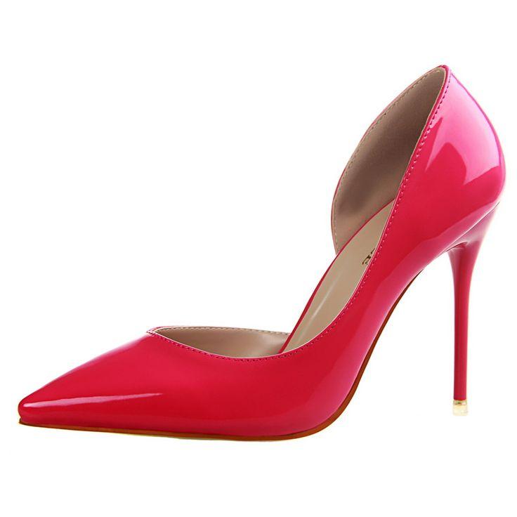 Qoujeily Высоких Пяток Женщин Два Piece Насосы Острым Носом Высокие Каблуки Сексуальные Туфли На Каблуках Женщины Насосы свадебные обувь Насосы купить на AliExpress