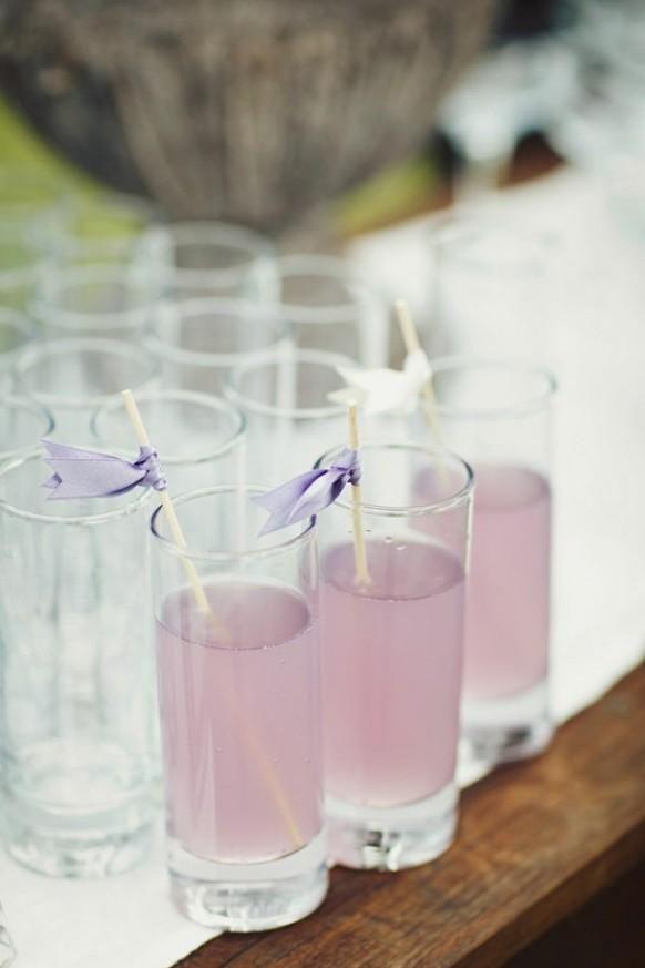 lavender themed wedding.....Cocktails