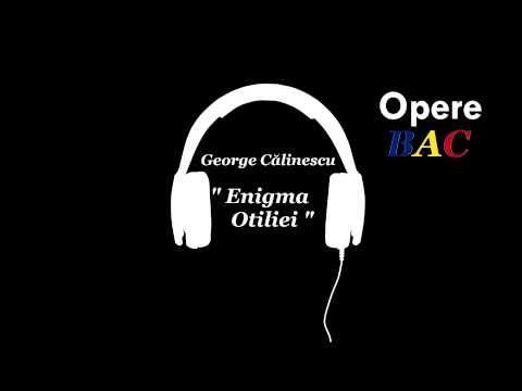George Calinescu - Enigma Otiliei   Roman balzacian
