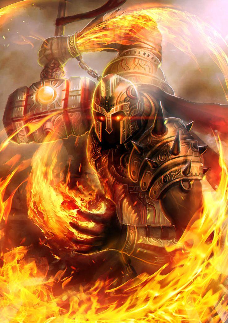Prometheus God of Flame level 4 by BillCreative.deviantart ...