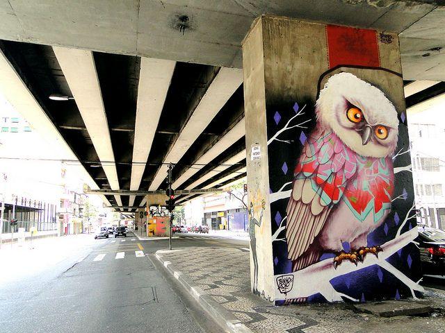 coruja no centro São Paulo 2010 | Flickr – Compartilhamento de fotos!