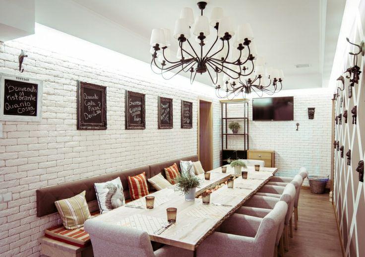 Дизайн проект интерьера ресторана Quanto-Costa