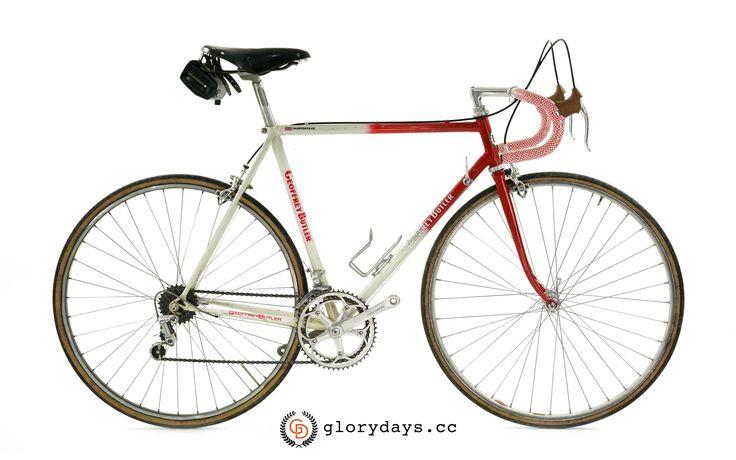 Geoffrey Butler steel vintage road bike.