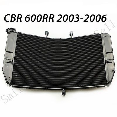 motorcycle Aluminum Replacement Radiator cooler For Honda CBR600RR 2003-2006 2004 2005