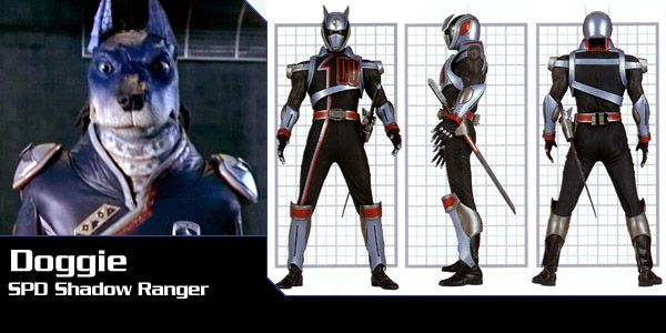 Doggie ( S.P.D. Ranger) - Power Rangers SPD   Power Rangers Central