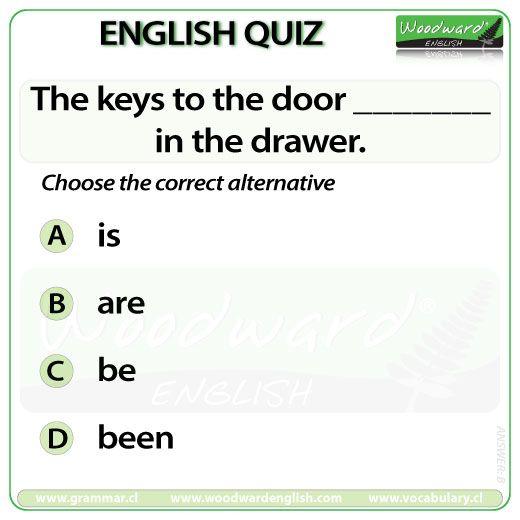 Woodward English Quiz 125 #ESL #Verbs