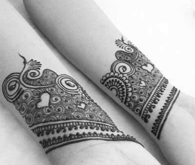 Easy & Simple Eid Mehndi Designs 2017 for Hands with Images http://www.fashioncluba.com/2017/04/simple-eid-mehndi-designs-for-hands-with-images.html