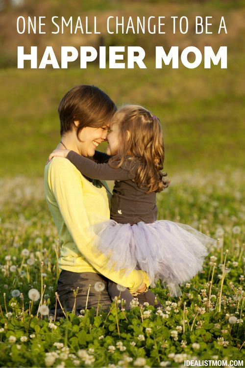This small change in your daily life will make you a happier mom. Perfect for the days of motherhood that leave you feeling frustrated, overwhelmed, and stressed. Plus, your kids will benefit because a happy mother means a happy family. Love this parenting tip - with a side of marriage advice!