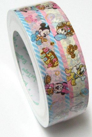 Disney Baby Medium Deco Tape - Stationery Heaven