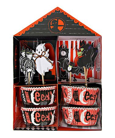 Take a look at this Halloween Cupcake Decoration Set by Meri Meri on #zulily today!