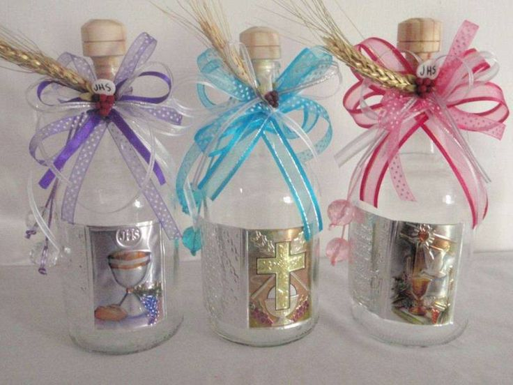12 ideas de botellas decoradas para primera comuni n - Ideas para decorar botellas ...