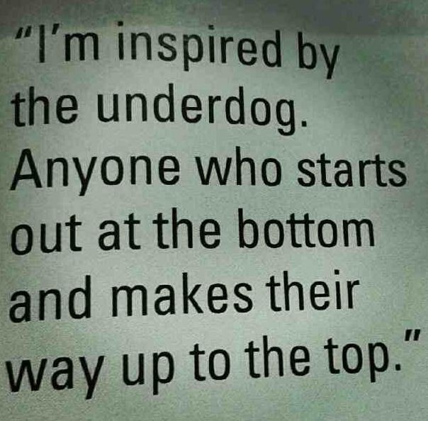 This year, I learned the hard difference between rooting for an 'underdog' and betting on a losing horse.  Some people choose to lose.  Don't let them drag you down with them...........................