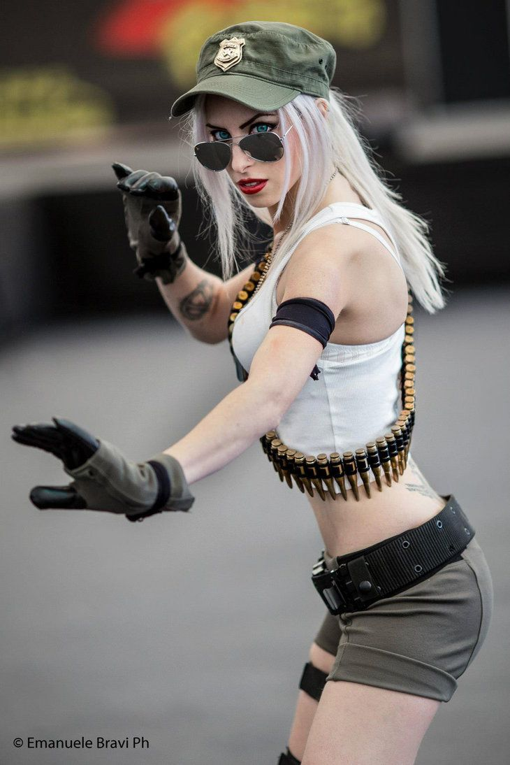 Sonya Blade Mortal Kombat IX Cosplay by MissHatred by JessicaMissHatred. I used to LOVE this game!