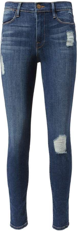 FRAME Le Skinny Hilltop Jeans