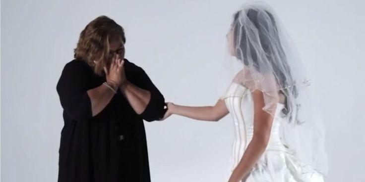 Daughters Try On Their Mother's Wedding Dress Video - Wedding Dress Video
