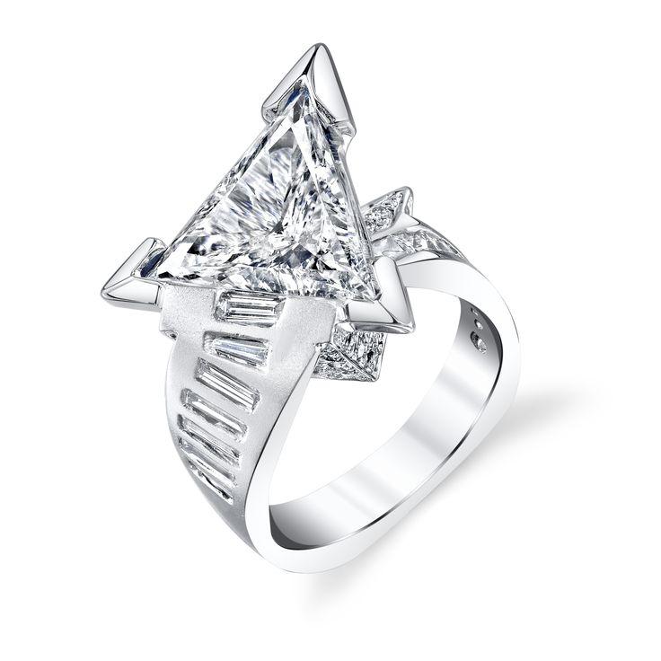 3 ct Diamond solitaire ring