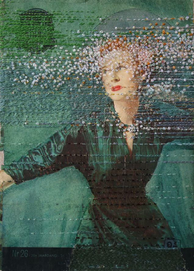 Lustik — Embroidery by Hinke Schreuders. Lustik: twitter |...