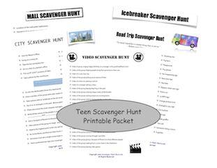 Teen Scavenger Hunt Idea Central