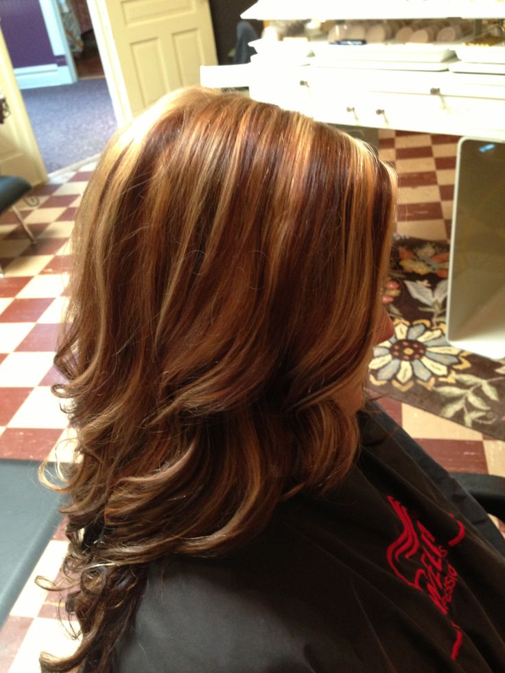 98 best my creations images on pinterest day spas brunettes and chunky highlights and lowlights full of dimension color highlightshair pmusecretfo Gallery