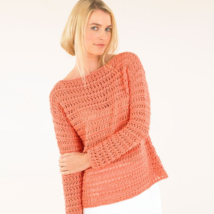 The Cruise square cut sweater - do colour up for summer!