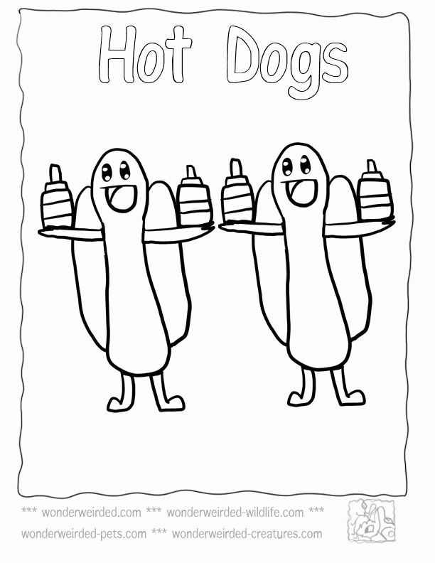 Hot Dogs Coloring Page Fresh 17 Best Images About 3 Animal Coloring Pages On Pinterest Dog Coloring Page Food Coloring Pages Baby Coloring Pages
