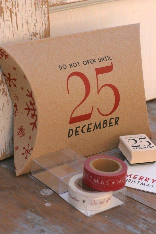 Ιδέες για χριστουγεννιάτικα περιτυλίγματα δώρων!   Φτιάξτο μόνος σου - Κατασκευές DIY - Do it yourself