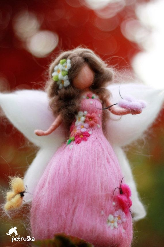Flower fairy, spring, home decor, personalized gifts, ornament, figurine, doll…