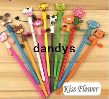 Wholesale Pens & Pencils - Buy New Fashion Animal Pencils/office And Study Pencils-12 Styles Free Shiping!!, $0.27 | DHgate
