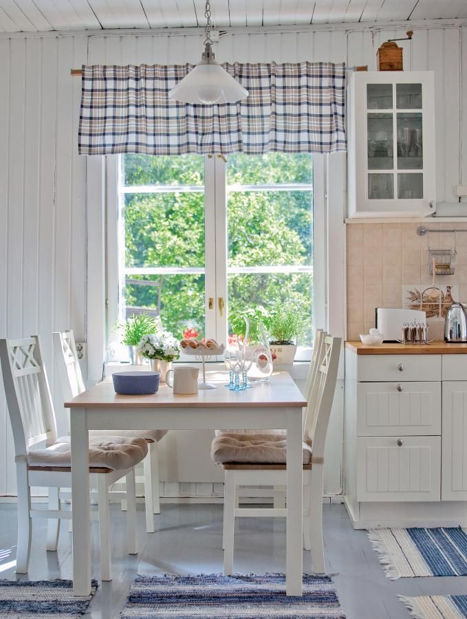 Kesäkeitaana kalastajan mökki  Koti ja keittiö  country mutfak  Pinterest