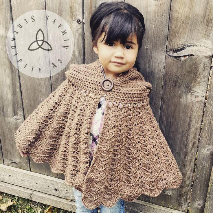 9 best Cloak images on Pinterest | Schals, Jacken und Strickmuster