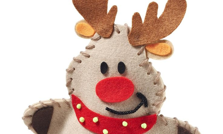 Craft your own Christmas! Make-do-and-mend trend sees sales at hobby store TRIPLE as Brits shun shop-bought cards and decorations to make their own