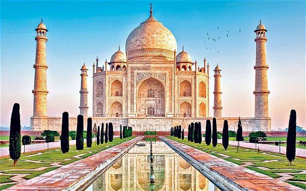 • See Taj Mahal, Agra, India.