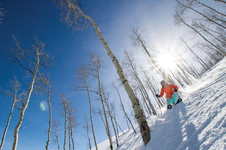 Park City Mountain Resort, UT ranked #5 in Ski Magazine's Best Ski Resorts in the West