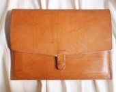 Obsessed with these leather laptop/iPad cases!