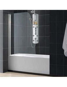 Штора для ванной RGW RGW SC-36 90х150см стекло прозрачное профиль хром